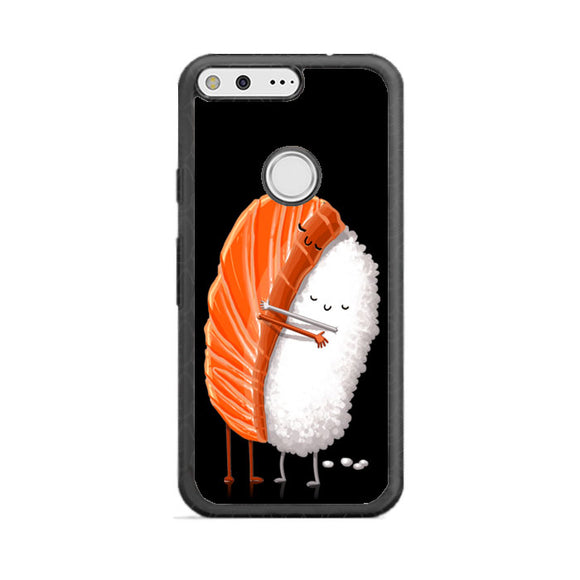 Sushi Illustration Google Pixel Case | Frostedcase