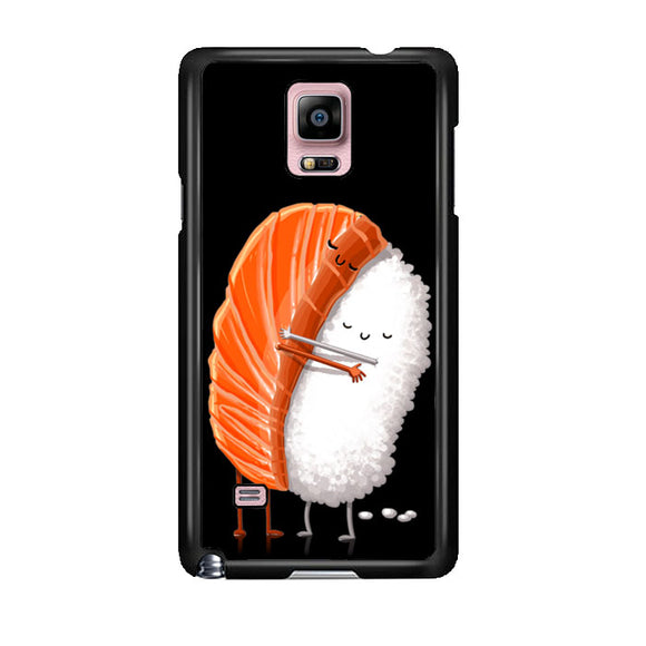Sushi Illustration Samsung Galaxy Note 4 Case | Frostedcase