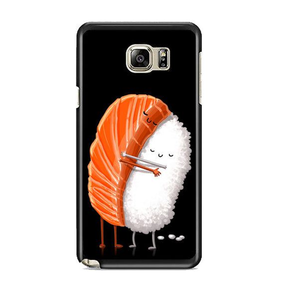 Sushi Illustration Samsung Galaxy Note 5 Case | Frostedcase