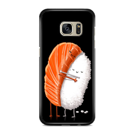 Sushi Illustration Samsung Galaxy S7 EDGE Case | Frostedcase