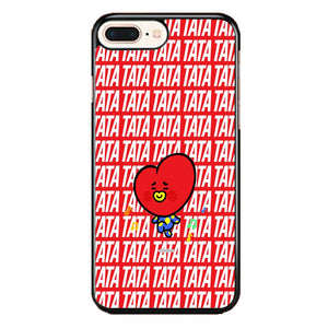 Tata Bts Icon Pattern iPhone 7 Plus Case | Frostedcase