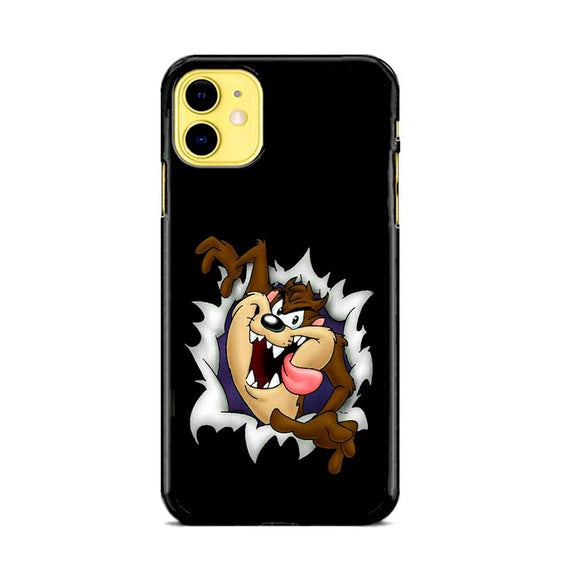 Taz-Mania Wall Canvas iPhone 11 Case | Frostedcase
