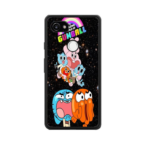 The Amazing World Of Gumball Galaxy Google Pixel 2 Case | Frostedcase