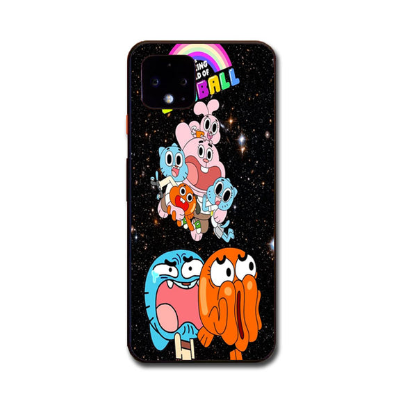 The Amazing World Of Gumball Galaxy Google Pixel 4 Case | Frostedcase
