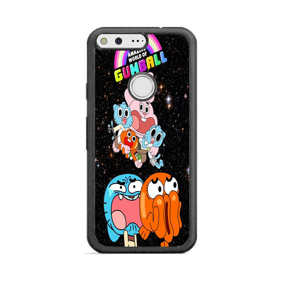 The Amazing World Of Gumball Galaxy Google Pixel Case | Frostedcase
