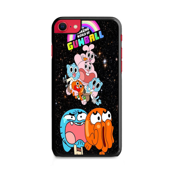 The Amazing World Of Gumball Galaxy iPhone SE Case | Frostedcase
