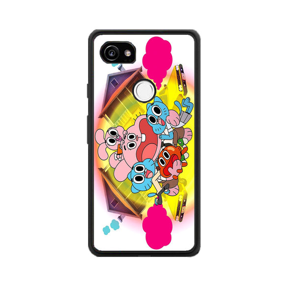 The Amazing World Of Gumball Panic House Google Pixel 2 Case | Frostedcase