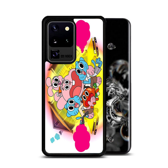The Amazing World Of Gumball Panic House Samsung Galaxy S20 Ultra Case | Frostedcase