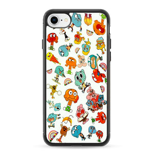 The Amazing World Of Gumball Canvas Character iPhone 8 Case | Frostedcase