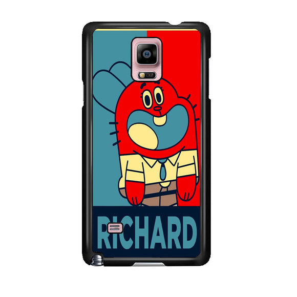 The Amazing World Of Gumball Poster Samsung Galaxy Note 4 Case | Frostedcase