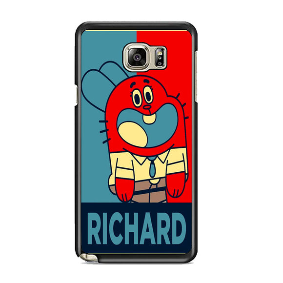 The Amazing World Of Gumball Poster Samsung Galaxy Note 5 Case | Frostedcase