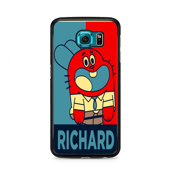 The Amazing World Of Gumball Poster Samsung Galaxy S6 Case | Frostedcase