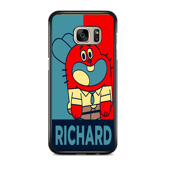 The Amazing World Of Gumball Poster Samsung Galaxy S7 EDGE Case | Frostedcase