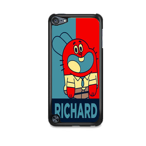 The Amazing World Of Gumball Poster iPod 5 Case | Frostedcase
