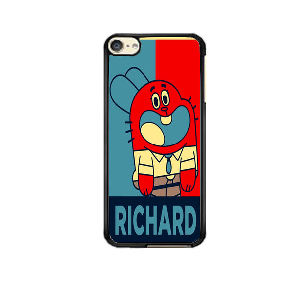 The Amazing World Of Gumball Poster iPod 6 Case | Frostedcase