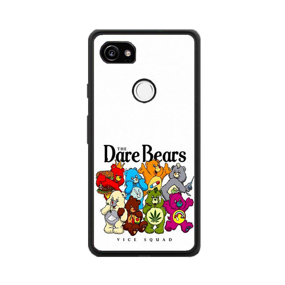 The Dare Bears Vice Squad Canvas Google Pixel 2 Case | Frostedcase