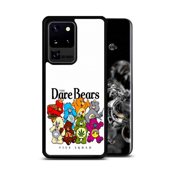 The Dare Bears Vice Squad Canvas Samsung Galaxy S20 Ultra Case | Frostedcase