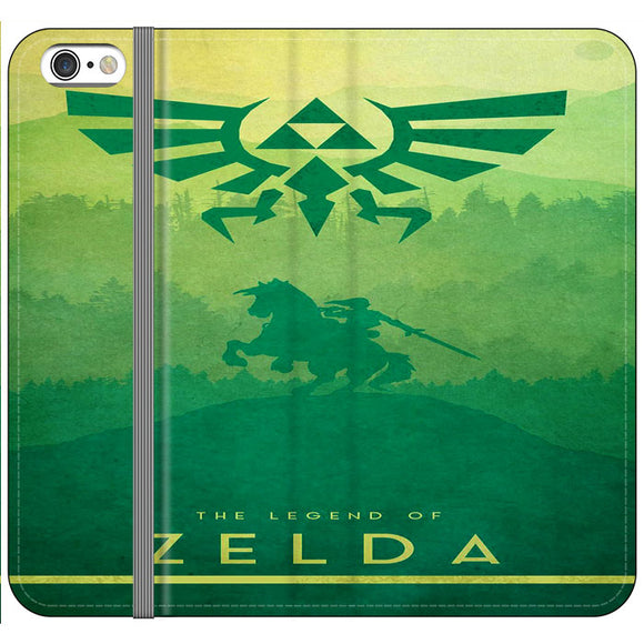 The Legend Of Zelda Drawing Art Cover iPhone 6|6S Flip Case | Frostedcase