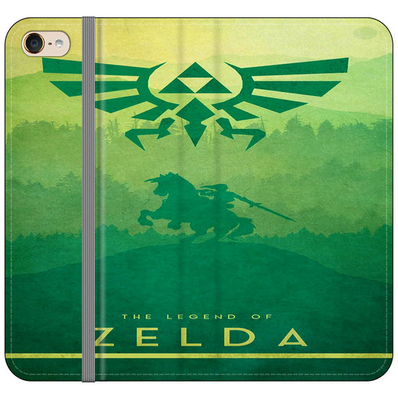 The Legend Of Zelda Drawing Art Cover iPod 6 Flip Case | Frostedcase