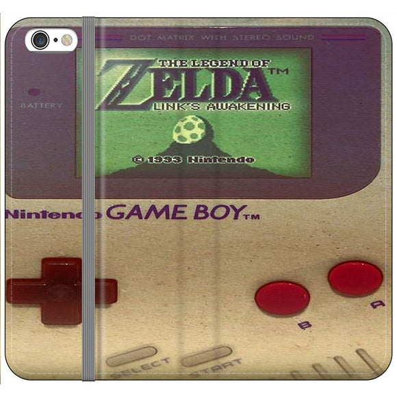 The Legend Of Zelda Nintendo Game Boy iPhone 6 Plus|6S Plus Flip Case | Frostedcase
