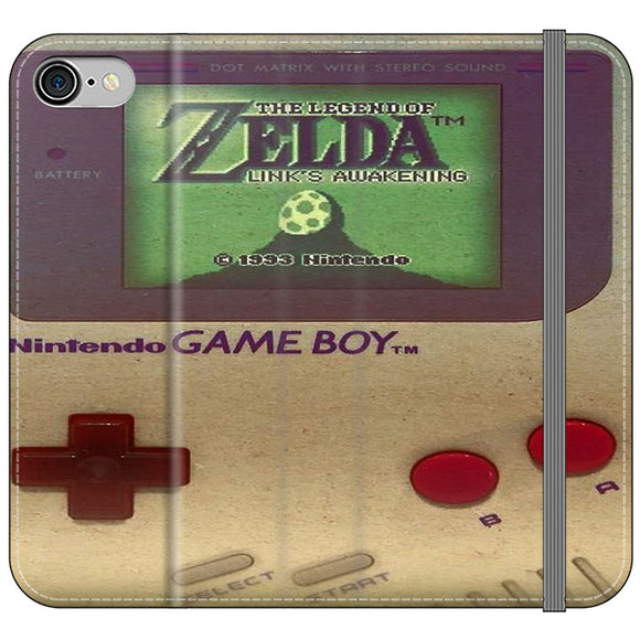 The Legend Of Zelda Nintendo Game Boy iPhone 8 Flip Case | Frostedcase