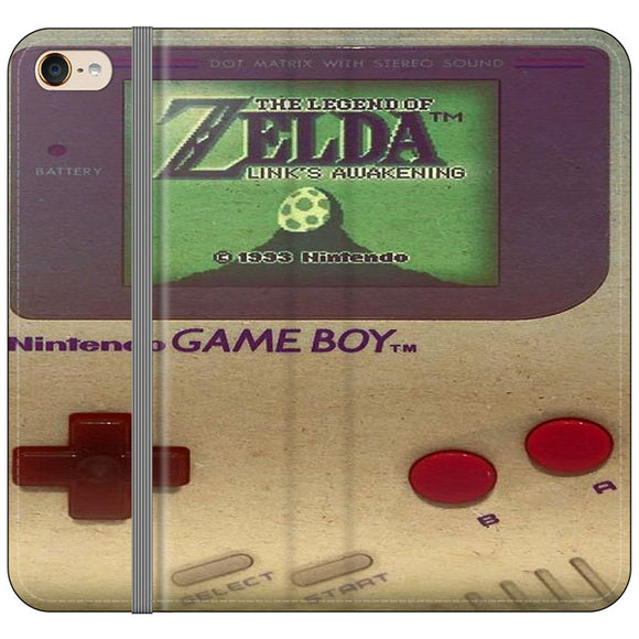 The Legend Of Zelda Nintendo Game Boy iPod 6 Flip Case | Frostedcase