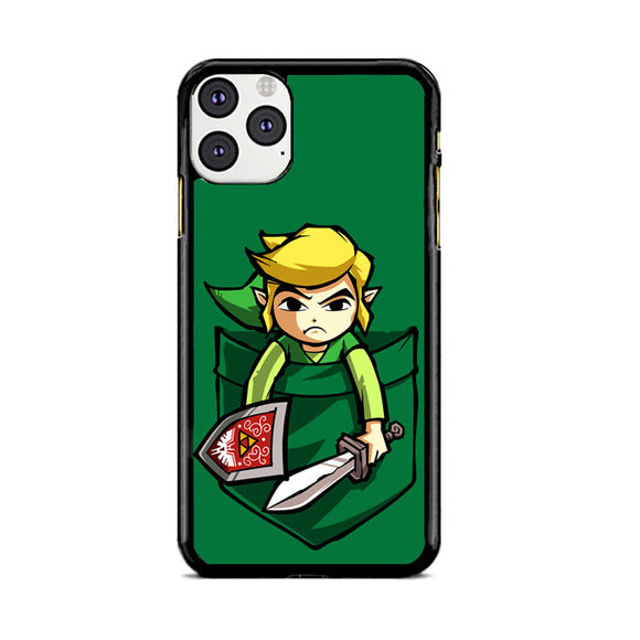 The Legend Of Zelda Pocket Angry iPhone 11 Pro Case | Frostedcase