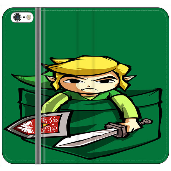 The Legend Of Zelda Pocket Angry iPhone 6|6S Flip Case | Frostedcase