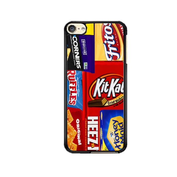 The Most Popular Snack Foods iPod 6 Case | Frostedcase
