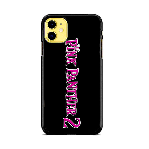 The Pink Panther 2 Font Logo iPhone 11 Case | Frostedcase