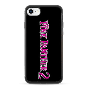 The Pink Panther 2 Font Logo iPhone 8 Case | Frostedcase