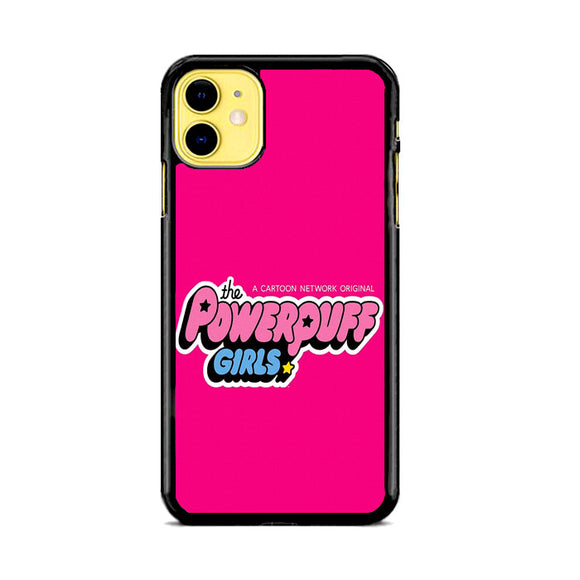The Powerpuff Girls Pink Canvas iPhone 11 Case | Frostedcase