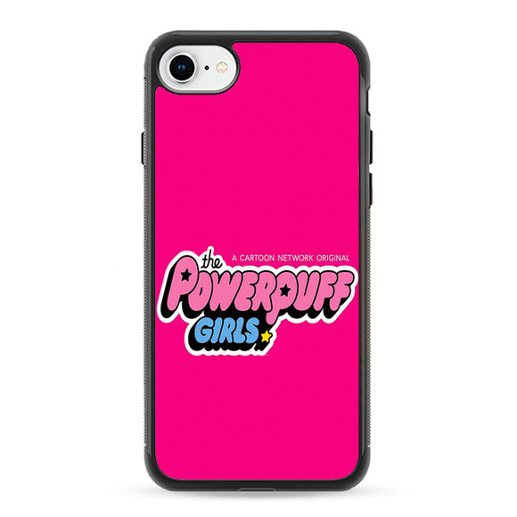 The Powerpuff Girls Pink Canvas iPhone 8 Case | Frostedcase