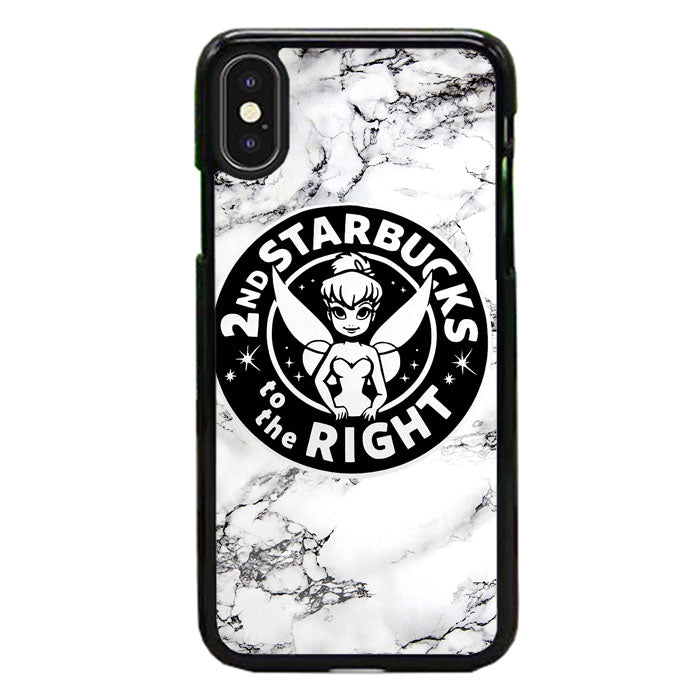 Tinkerbell Starbucks Disney Marble iPhone XS Max Case | Frostedcase