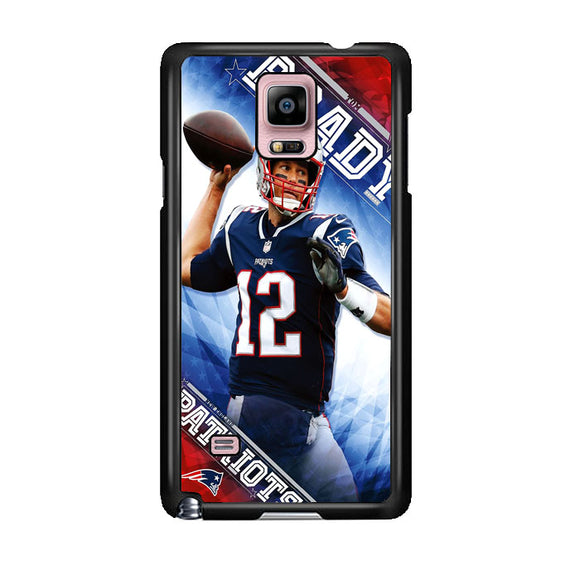 Tom Brady New England Patriots Samsung Galaxy Note 4 Case | Frostedcase