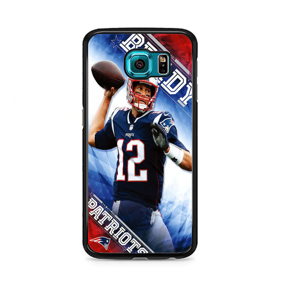 Tom Brady New England Patriots Samsung Galaxy S6 Case | Frostedcase