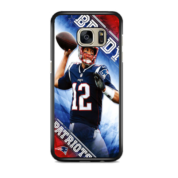 Tom Brady New England Patriots Samsung Galaxy S7 EDGE Case | Frostedcase