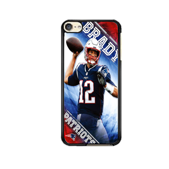 Tom Brady New England Patriots iPod 6 Case | Frostedcase