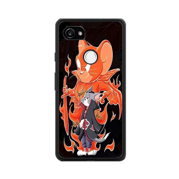 Tom And Jerry X Naruto Google Pixel 2 Case | Frostedcase