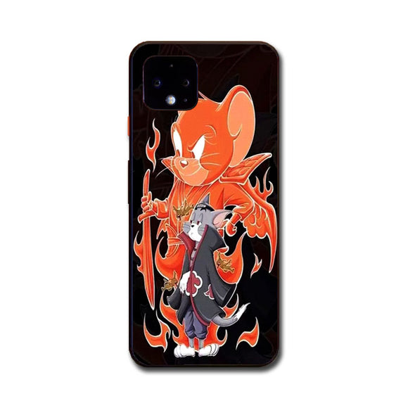 Tom And Jerry X Naruto Google Pixel 4 Case | Frostedcase