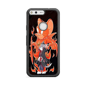 Tom And Jerry X Naruto Google Pixel Case | Frostedcase