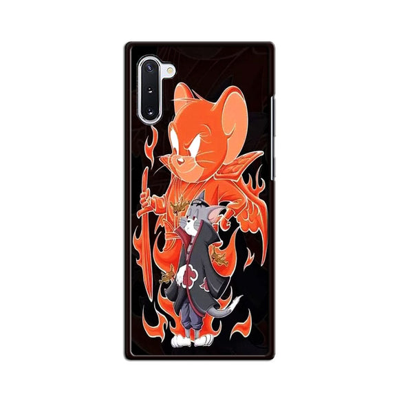 Tom And Jerry X Naruto Samsung Galaxy Note 10 Case | Frostedcase