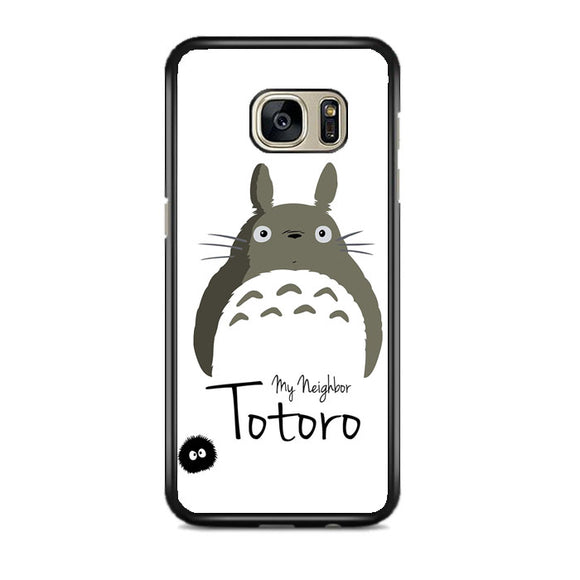Tororo My Neighbor Silhouette Samsung Galaxy S7 EDGE Case | Frostedcase