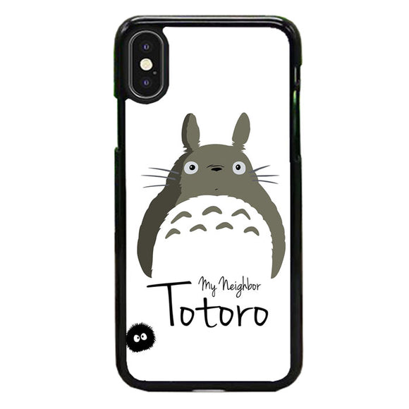 Tororo My Neighbor Silhouette iPhone XS Case | Frostedcase