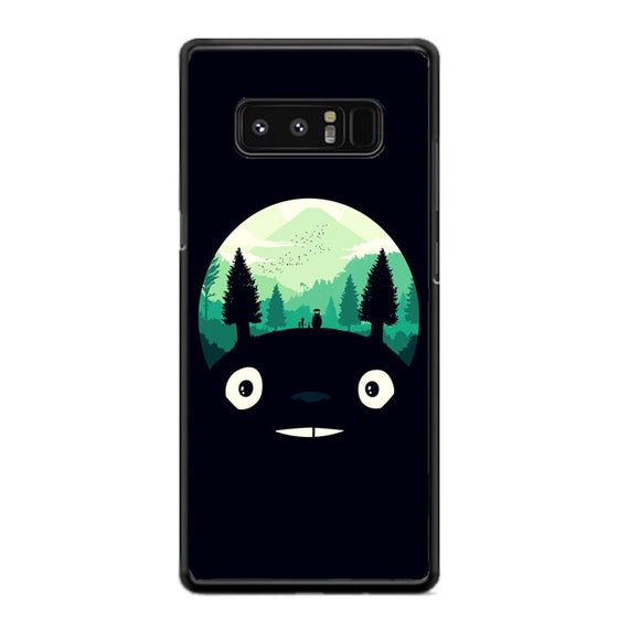 Tororo Night Silhouette Forest Samsung Galaxy Note 8 Case | Frostedcase