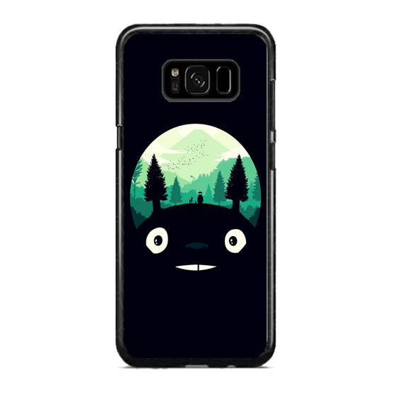 Tororo Night Silhouette Forest Samsung Galaxy S8 Plus Case | Frostedcase