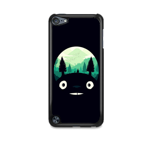 Tororo Night Silhouette Forest iPod 5 Case | Frostedcase