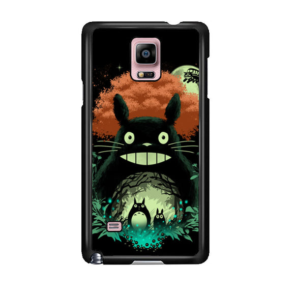 Totoro My Neighbor Samsung Galaxy Note 4 Case | Frostedcase