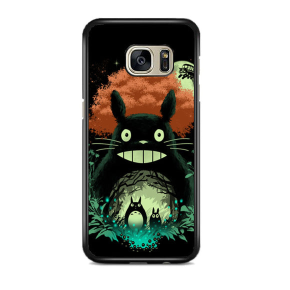 Totoro My Neighbor Samsung Galaxy S7 EDGE Case | Frostedcase