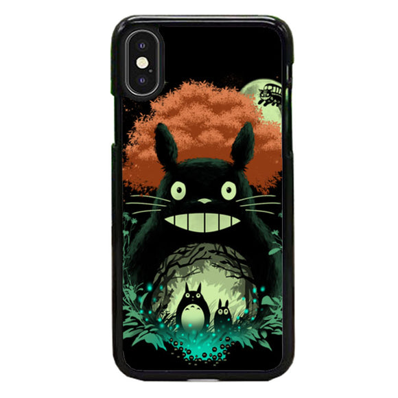 Totoro My Neighbor iPhone X Case | Frostedcase